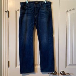 7 for all mankind men's luxe jean